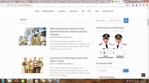 Jasa Pembuatan website di Pati