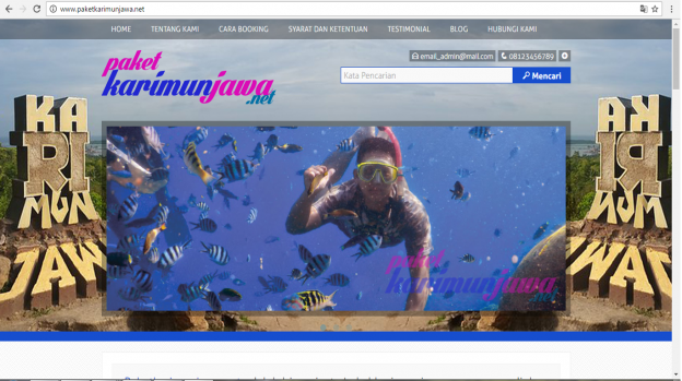 Jasa Pembuatan Website di bali, Jasa Pembuatan Website Tour Travel