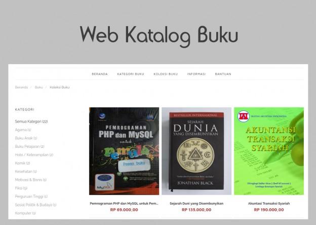 Jasa pembuatan website katalog online