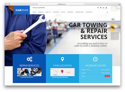 Jasa Pembuatan Website Perusahaan otomotif