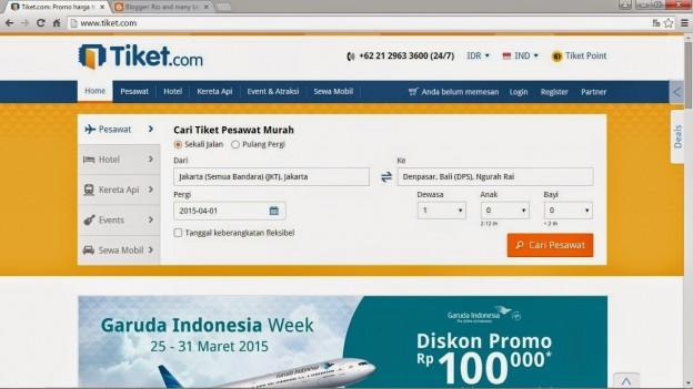 Jasa pembuatan website reservasi tiket pesawat