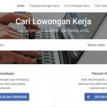 Jasa pembuatan website Agensi tenaga kerja